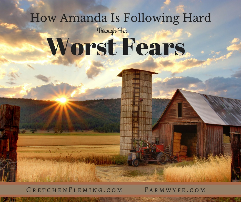 What can you do when your worst fears become your reality? Amanda shows us how she is processing her devastating turn of events and standing firm!
