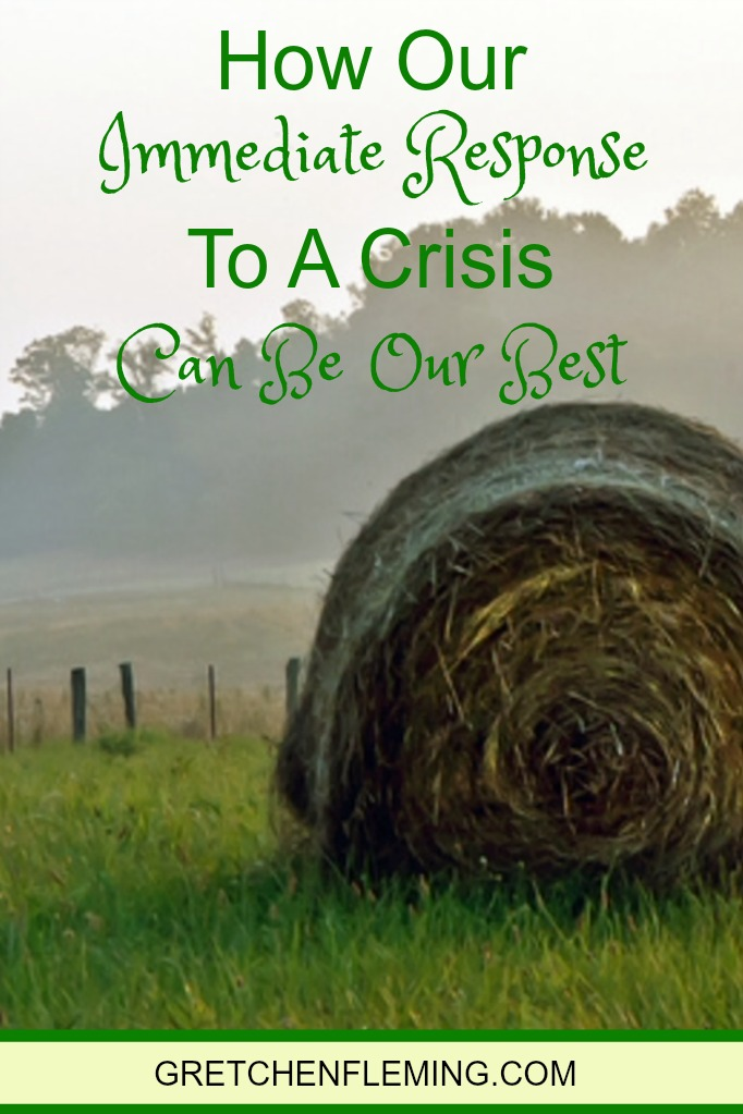 How Our Immediate Response To A Crisis Can Be Our Best