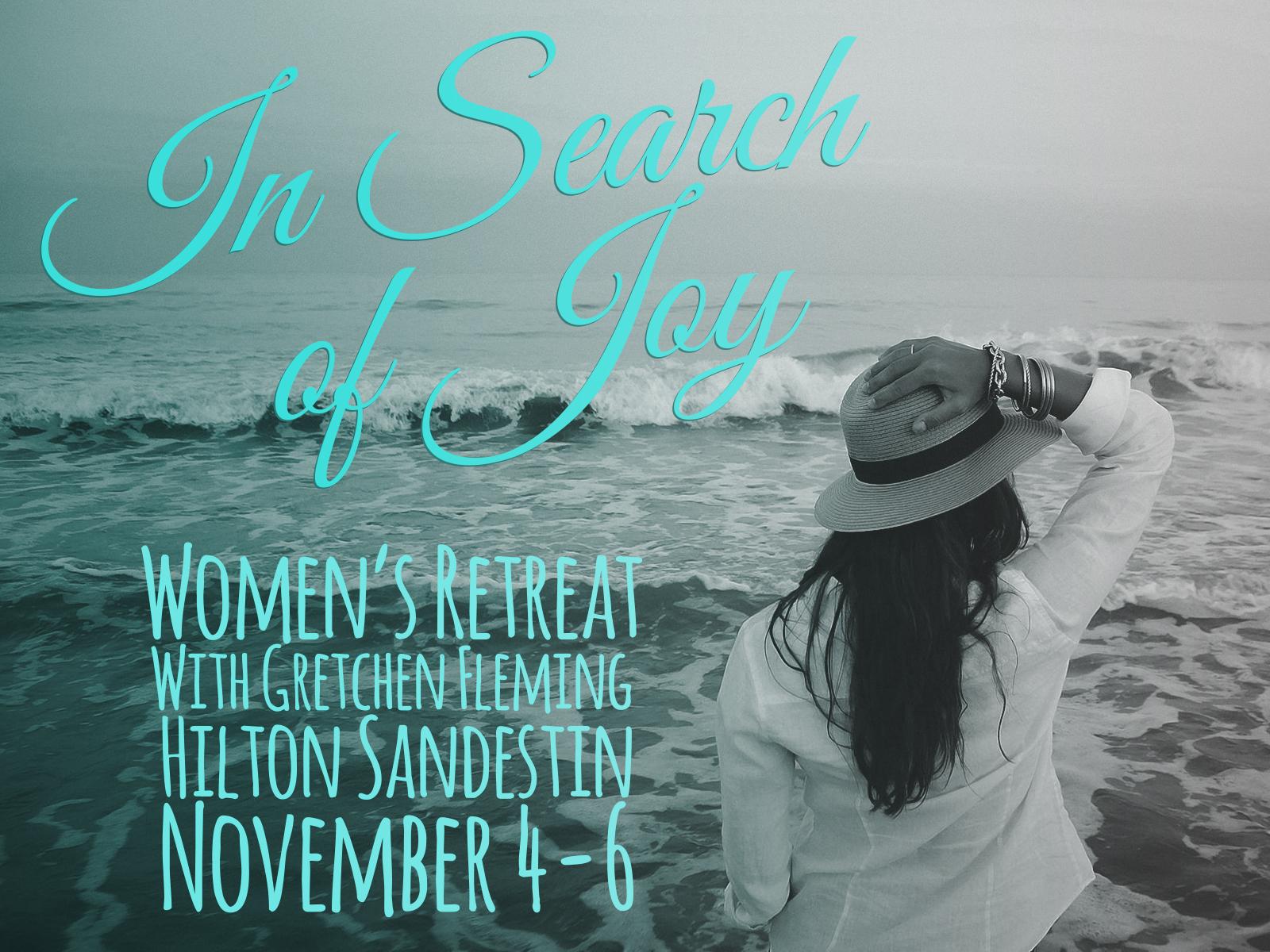 """In Search Of Joy"" Retreat Audio"