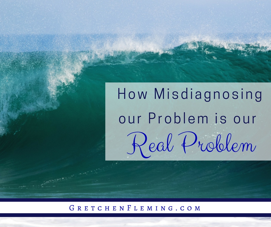 How Misdiagnosing our Problem is our Real Problem