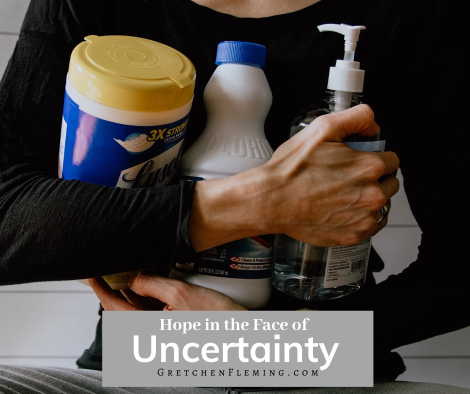 Hope in the Face of Uncertainty- How I Am Processing the Coronavirus