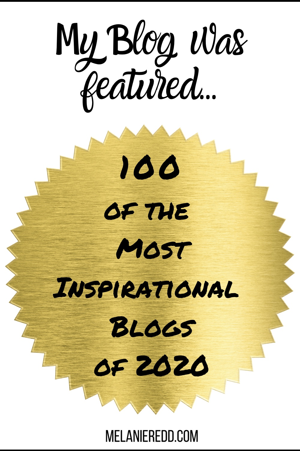 One of the 100 Most Inspirational Blogs!